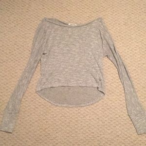 Tops - NWOT Aeropostale Sparkle Cropped Sweater